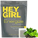 Metabolism Booster Tea For Women - Energize Tea will Increase Energy , Focus and Support Natural Weight Loss - Replace Your Coffee with Energize to Get Through your Day with Ease