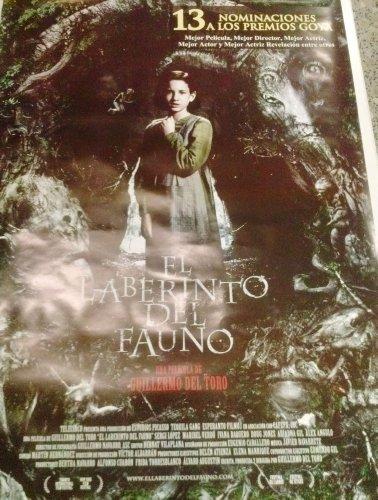 POSTER ORIGINAL- EL LABERINTO DEL FAUNO --97CM ALTO POR 68 ANCHO APROX. - ESPLÉNDIDA ILUSTRACIÓN