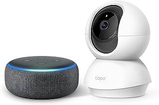 Echo Dot (第3世代) チャコール + TP-Link ネットワークカメラTC70