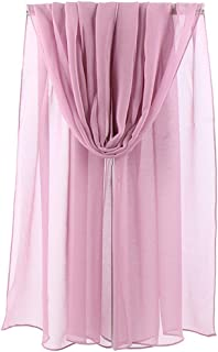 LMVERNA Lightweight Solid Color Scarf for Women Fashion Scarves Sunscreen Shawls