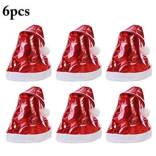 For Sale! Outgeek 6PCS Christmas Hat Creative Decorative Costume Hat Santa Hat Party Hat