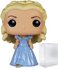 Disney: Cinderella (Live Action) - Cinderella Funko Pop! Vinyl Figure (Includes Compatible Pop Box Protector Case)