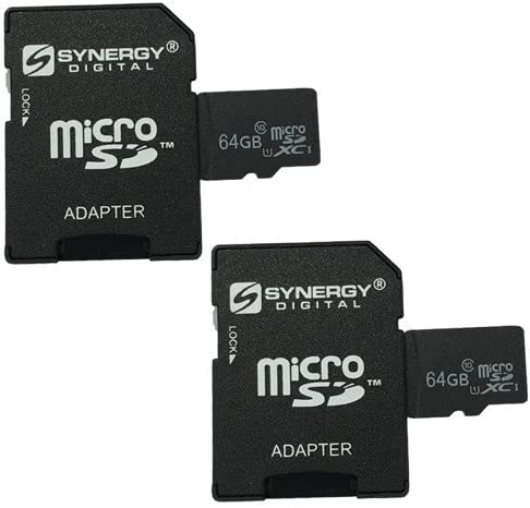 Sony HDR-CX405 Camcorder Memory Card 2 x 64GB microSDXC Class 10 Extreme Memory Card with SD Adapter (2 Pack)