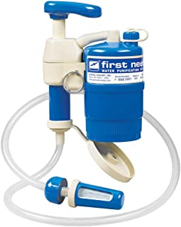 General Ecology 322200 First Need XLE Elite Water Filter for Camping (Emergency Water Purification - Removes Viruses, Bact...