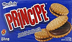 Delicious cookies with chocolate flavored filing 8 packs per box (2.22 oz each) 150 Calories per 3-piece serving Smooth chocolate center Take with you for lunch, camping or just a snack