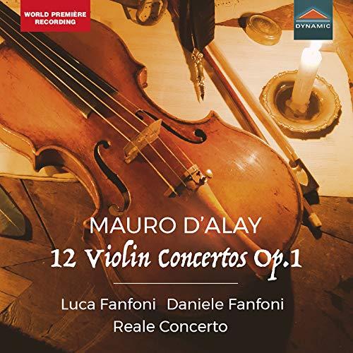 Mauro D'Alay, 12 Violin Concertos Op.1