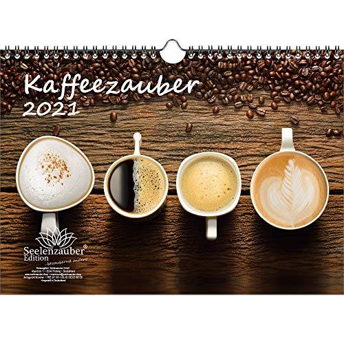 Kaffeezauber DIN A4 Kalender für 2021 Kaffee - Seelenzauber