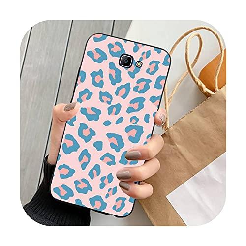 Happy-horse moda leopardo imprimir teléfono fundas para Samsung Note 8 9 10 20 lite pro ultra J 7 2 4 6 5 prime-a5-para J52016