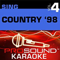 Sing Country '98 Vol. 4 [KARAOKE]