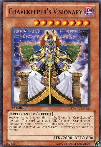 Yu-Gi-Oh! - Gravekeeper's Visionary (SDMA-EN018) - Structure Deck: Marik - 1st Edition - Common by Yu-Gi-Oh!