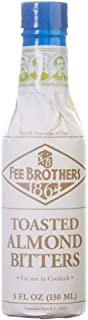 Fee Brothers Toasted Almond Bitters - 5 Ounce Glass Bottle