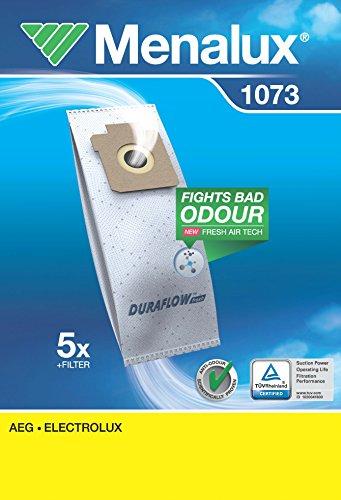 Menalux 1073, Duraflow, 5 Staubbeutel für AEG und Electrolux