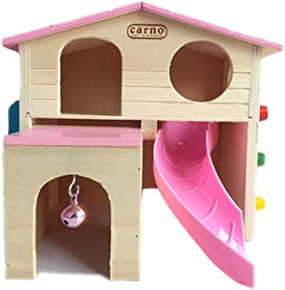 pink hamster house
