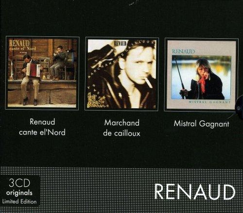 Coffret 3 CD : Renaud Cante El\'Nord - Marchand De Cailloux - Mistral Gagnant