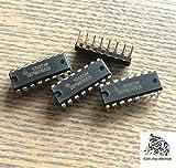 10PCS/LOT CD74HC4052E analog multiplexer 74HC4052E DIP-16 inline