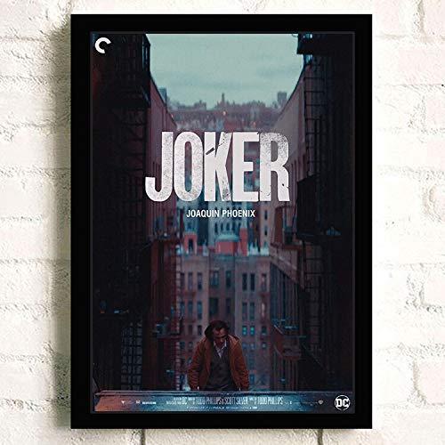 IHlXH Joker Joaquin Phoenix Heide Ledger DC Film Comics Wandkunst Gemälde Druck auf Leinwand Bar Zimmer Poster Bilder Wohnkultur 2 50 x 70 cm Kein Rahmen