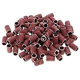 Frcolor levigatura bande per Unghie 100Pz Rosso...