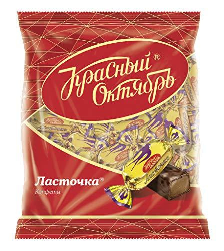 Pralinen Lastotchka 3er Pack (3 x 250g) russisches Konfekt mit Kondensmilch in kakaohaltiger Glasur