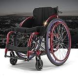 Titane Alliage Matériel Handicapé Sport Fauteuil Ultra Léger Étape Chaise Sport...
