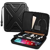 SITHON 11 Pulgadas Tablet Funda para 10.9' iPad Air 4, 11' iPad Pro, 10.2' iPad, 10.5' iPad Air/Pro, 9.7' iPad, Huawei M5/T5/T3, Lenovo M10, Portátil Duro Bolsa con Organizador Bolsillo de Accesorios