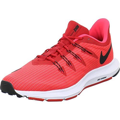 Nike Quest, Zapatillas de Atletismo Hombre, Multicolor (University Red/Black/Red Orbit 600), 41 EU
