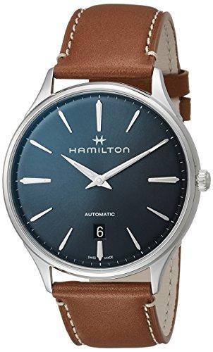 Hamilton H38525541 Jazzmaster Thinline Auto Men's Watch Tan 40mm Stainless Steel