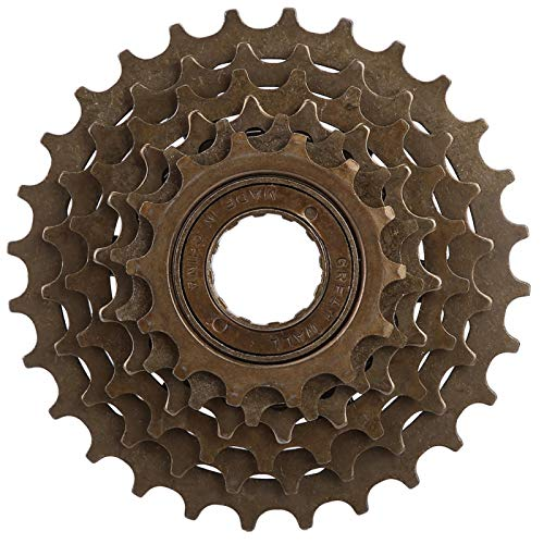 Jershal Freewheel Bike-Bicycle Freewheel Cassette Sprocket 6 14T-28T Mountain Bike Replacement Accessory