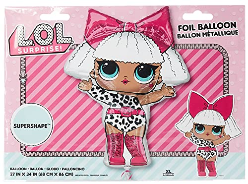 Diva Jumbo 34 Inch Foil Balloon