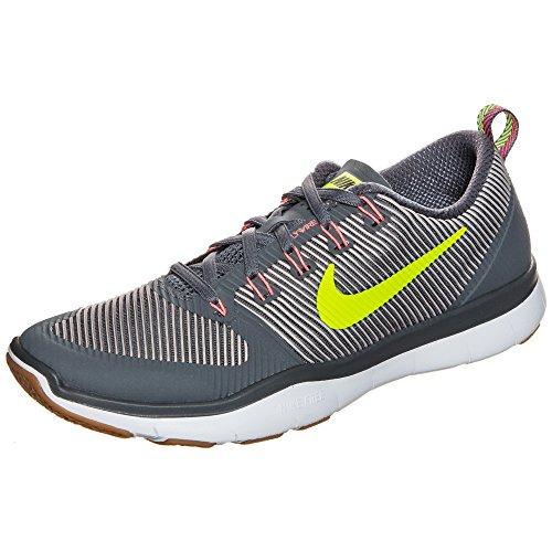 Nike Nike Free Train Versatility - Gris oscuro, volt-pálido, talla 11