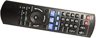Easy Replacement remote control fit for Panasonic DMR-EZ47V DMR-EZ47VK DMR-EZ485 DMR-EZ27K DMR-EZ485V DVD Recorder Player