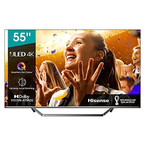Hisense 55U7QF - Smart TV 55', ULED 2020, Resolución 4K,...