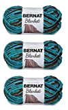 Bernat 161200-203 Blanket Yarn - Mallard Wood