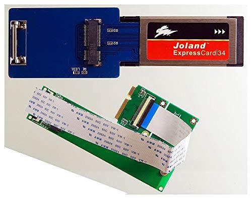 M-ware Electronics Verwenden Sie eine M.2 NVMe SSD am ExpressCard-34-Slot, z.B. für Samsung 950/960/970 EVO. ID19499
