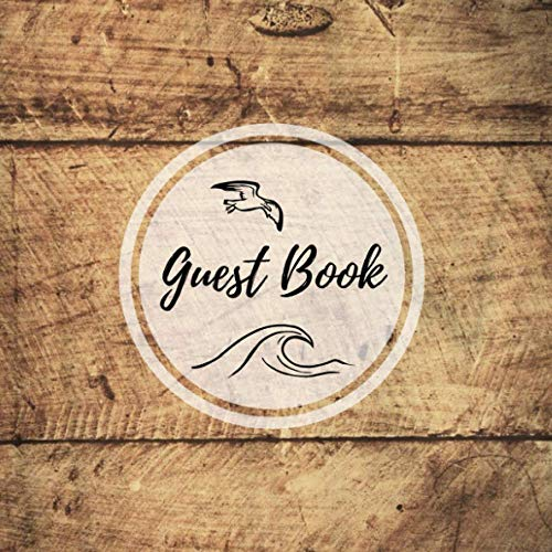 Guest Book: Visitors Book - Vacation Apartment Guestbook - Air bnb / B&Bs- Visitor Comments Book - Hotels - Guest House : 200 Pages 8.25 'x 8.25' Format