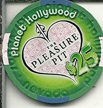 $25 planet hollywood the pleasure pit las vegas nevada casino chip