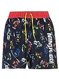 LEGO Ninjago Boys' Ninja Go Swim Shorts Size 12 Black
