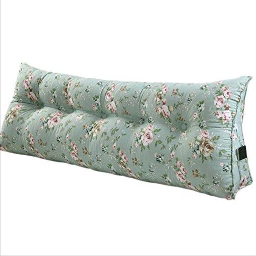Double canapé triangle de chevet coussins/coton toile taille/lit double oreiller (taille : 90 * 22 * 50cm)