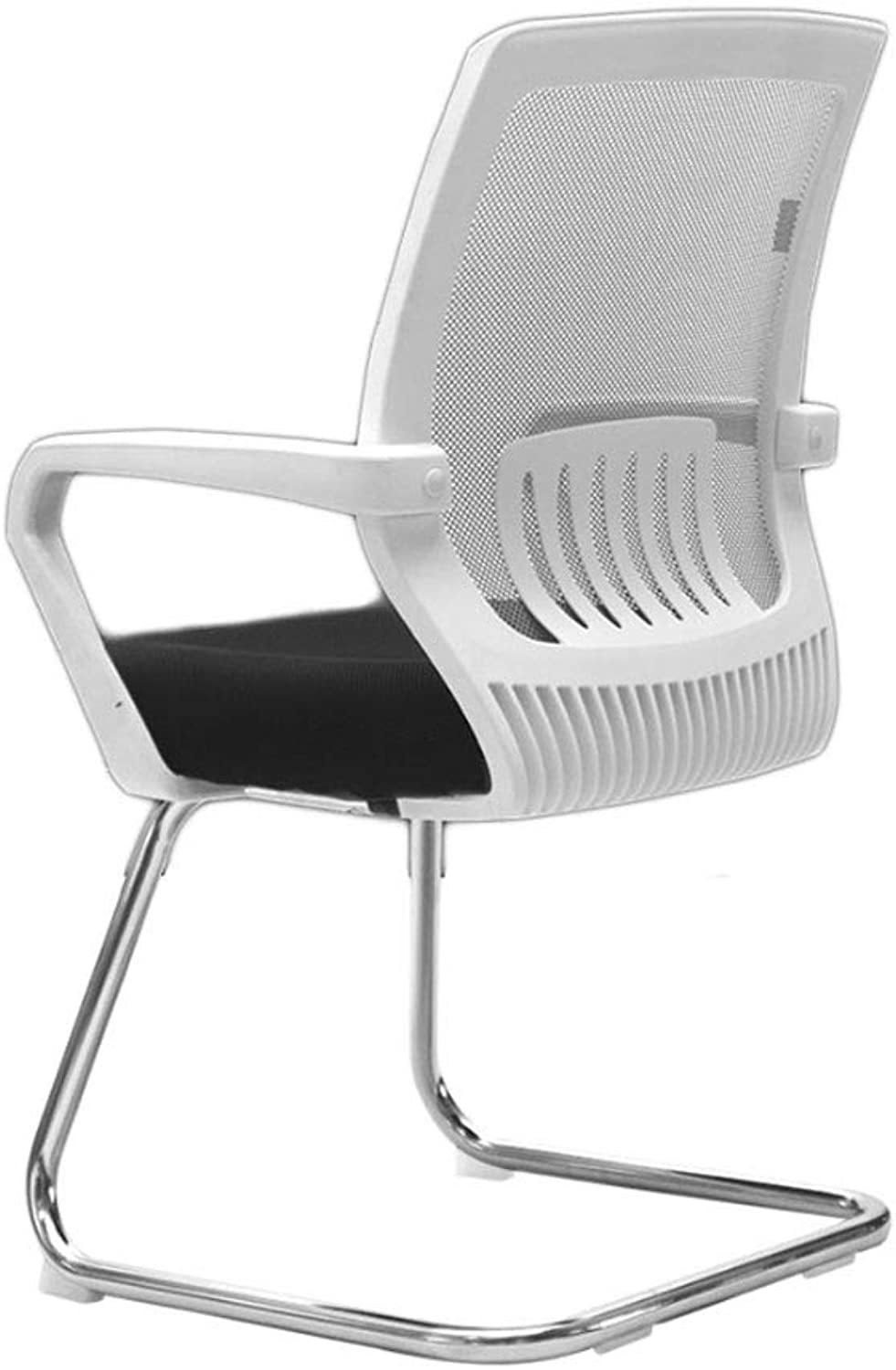Computer Chair Home Net Chair Bow Staff Chair Lift Chair Swivel Chair Modern Simple Office Chair (color   White, Size   90cm)