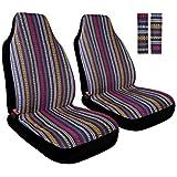 COOLBEBE Coprisedili anteriori universali per auto, con cinture di sicurezza, accessori interni per auto, protezione per sedili traspiranti