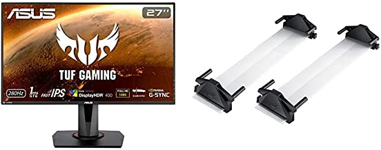 """ASUS TUF Gaming VG279QM 27"""" HDR Monitor, 1080P Full HD (1920 x 1080) Fast IPS, 280Hz, G-SYNC Compatible, 1ms, Display HDR ..."""