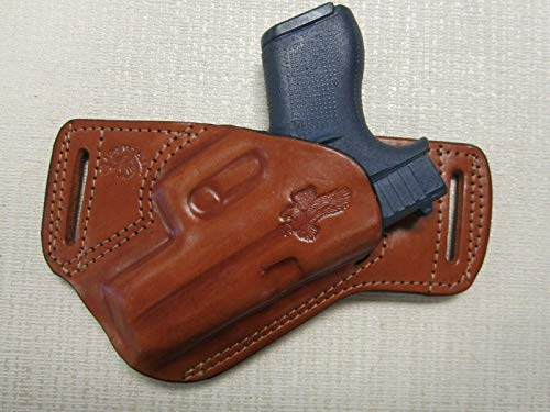 Fits Glock 43 & 43X Formed Brown Leather...