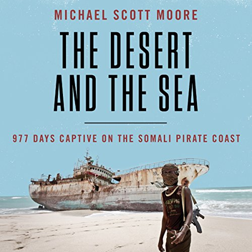 The Desert and the Sea audiobook cover art