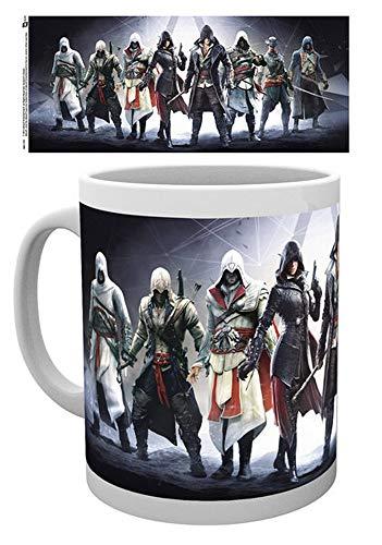 empireposter - Assassins Creed - Assassins - Größe (cm), ca. Ø8,5 H9,5 - Lizenz Tassen, NEU - Beschreibung: - Keramik Tasse, weiß, bedruckt, Fassungsvermögen 320 ml, offiziell lizenziert, spülmaschinen- und mikrowellenfest -