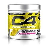 C4 Original Pre Workout Powder Watermelon Sugar Free Preworkout Energy Supplement for Men & Women 150mg Caffeine + Beta Alanine + Creatine 30 Servings