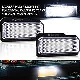 2Pcs LED Luci Targa per Auto Lampada Targa 24SMD LED Luce Lampada Posteriore con CanBus per C E CLS SLK Class S203 W211 W219 C219 R171
