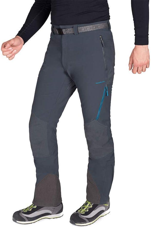 Hombre Negro 2XL Trangoworld Prote Extreme DS Pantal/ón Largo