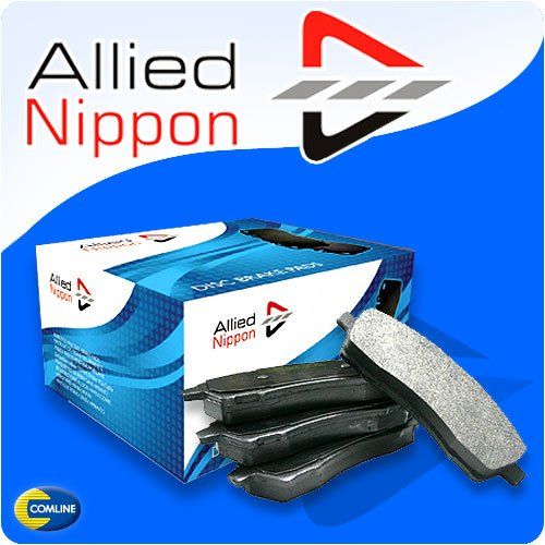 Front Allied Nippon Brake Pads Rover 75 Series 2.0L 2002 to 2004 - ADB0898