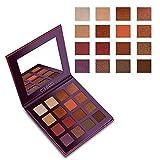 CIBBCCI Eyeshadow Makeup Palette 16 Colors Pigmented Velvet Texture Blendable Neutral Warm Long Lasting Eye Shadow Pallet With Mirror