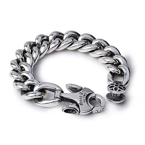 Adisaer Armband Männer Armband Silber 925 Vergoldet 925Er Sterling Silber Damen Herren Drache Breit Fisch Anker Gothic Vintag Punk Armkette Party Für Pärchen