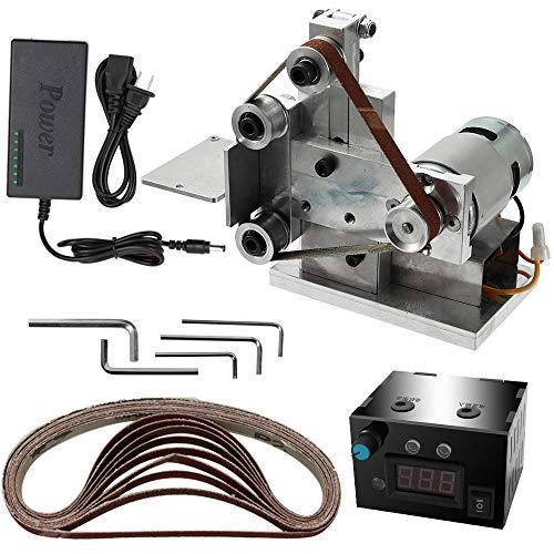 KKmoon Multifunktionsschleifer Mini Elektrische Bandschleifer DIY Polierschleifmaschine Cutter Kanten Sharpener ¡